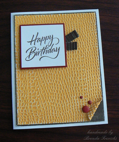 Crafting with joanie simple birthday card for male or female its time for me to make twenty more cards for church here is a card that is simple enough to do in bulk it will work for men or women too bookmarktalkfo Gallery