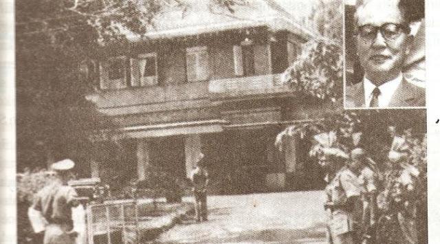 Rumah di Meiji Dori Nomor 1