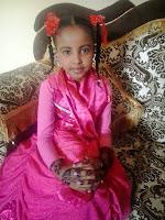Somali small girl and henna