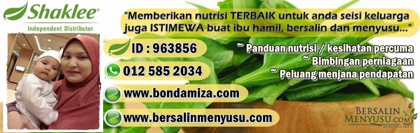 SELAMAT DATANG KE BLOG KEHAMILAN, BERSALIN & MENYUSU TERBAIK DI MALAYSIA