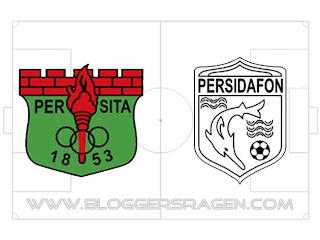Pertandingan Persita Tangerang vs Persidafon