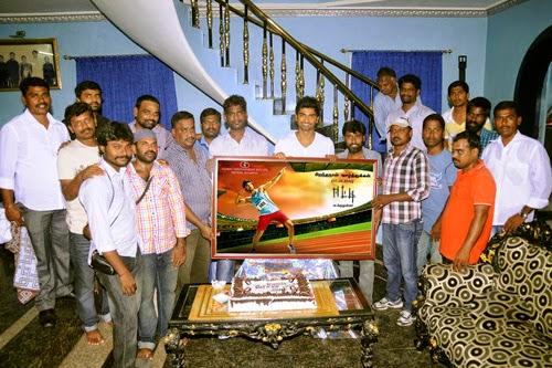Atharva Birthday Celebration at EETTI Movie Shooting Spot