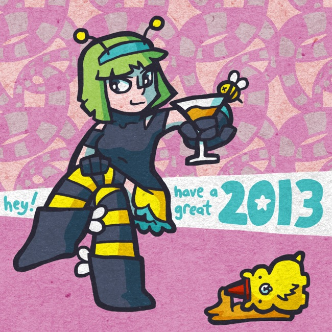 happ bee new year