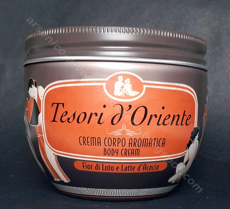 Tesori d'Oriente Crema Corpo Aromatica Fior di Loto e Latte di Acacia