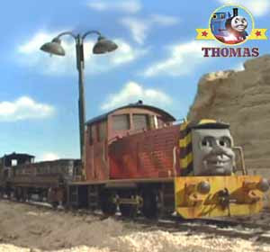 Stone mine Thomas & friends Salty the dockyard diesel shunter had arrived from Brendam harbor wharf