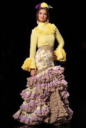 moda flamenca vestido Fargarita Freire 2015