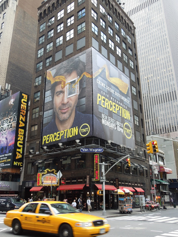 Perception season 1 billboard NYC