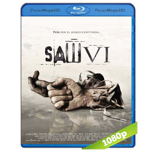 Saw VI (2009) V. ExTendida BrRip 1080p Audio Ingles 5.1+ Subtitulos