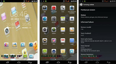 Screenshot Tablet Advan T1R