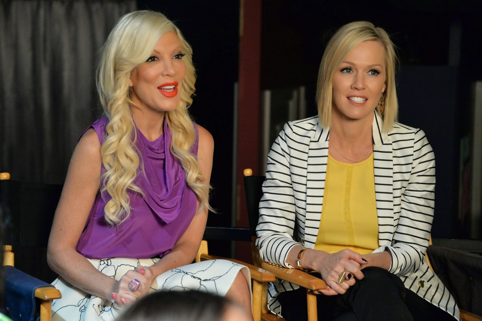 Interview with Tori Spelling, Jennie Garth and Miguel Pinzon #MysteryGirls #ABCFamilyEvent