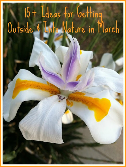 15 ideas for getting outside and into nature with kids in March