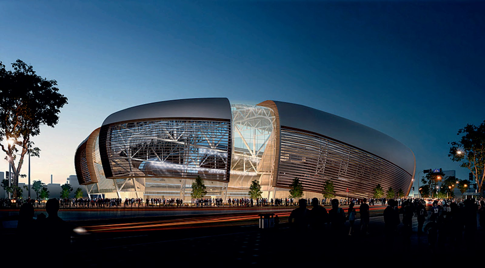 Vikings stadium by hks inc for Top dallas architecture firms