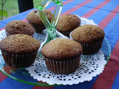 Applesauce Cinnamon Raisin Butterscotch Muffins