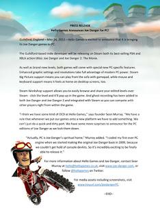 joe danger 1 and 2 press release 1 Joe Danger & Joe Danger 2: The Movie Announced For PC + Screenshots