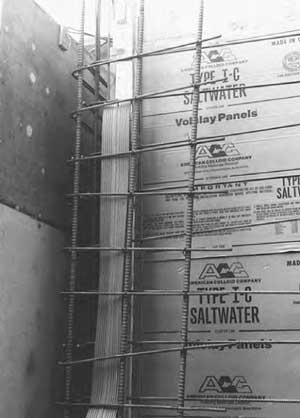 Saltwater panel application.