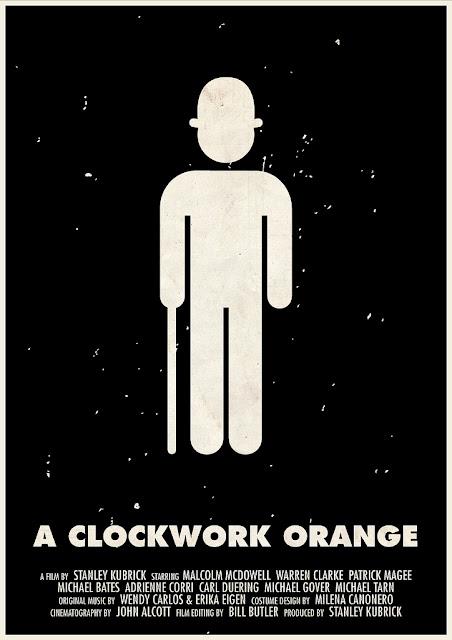 la naranja mecánica poster