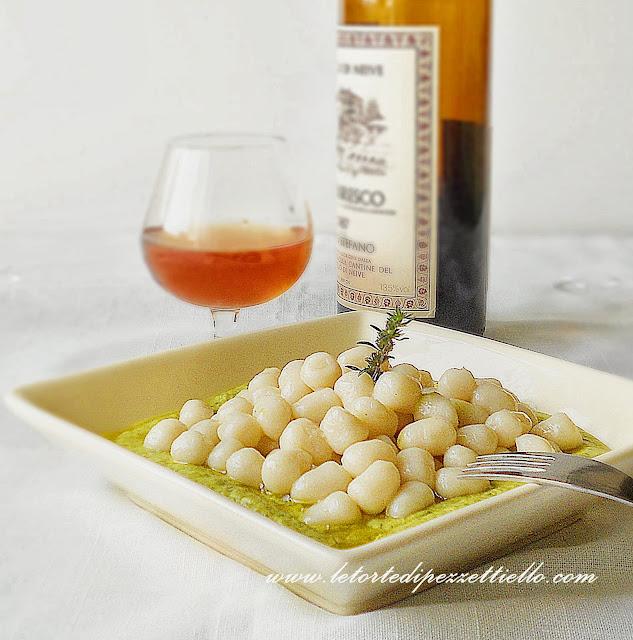 Gnocchi senza glutine con zucchine