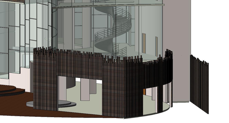 Dab architectural design project revit