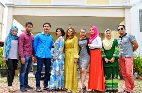 Watie Sadali, Mia Ahmad, Afzan Rahman, Farahdhiya, Zuhairi Ibrahim, Keena Mentor, Ewan DFKL dan Aishah Atan