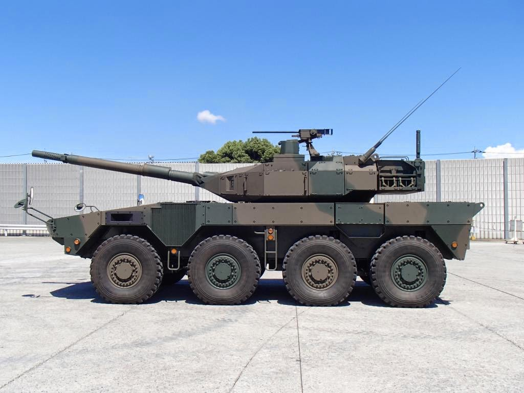 WARFARE TECHNOLOGY: Maneuver Combat Vehicle 8x8 & Japan's New Defense ...