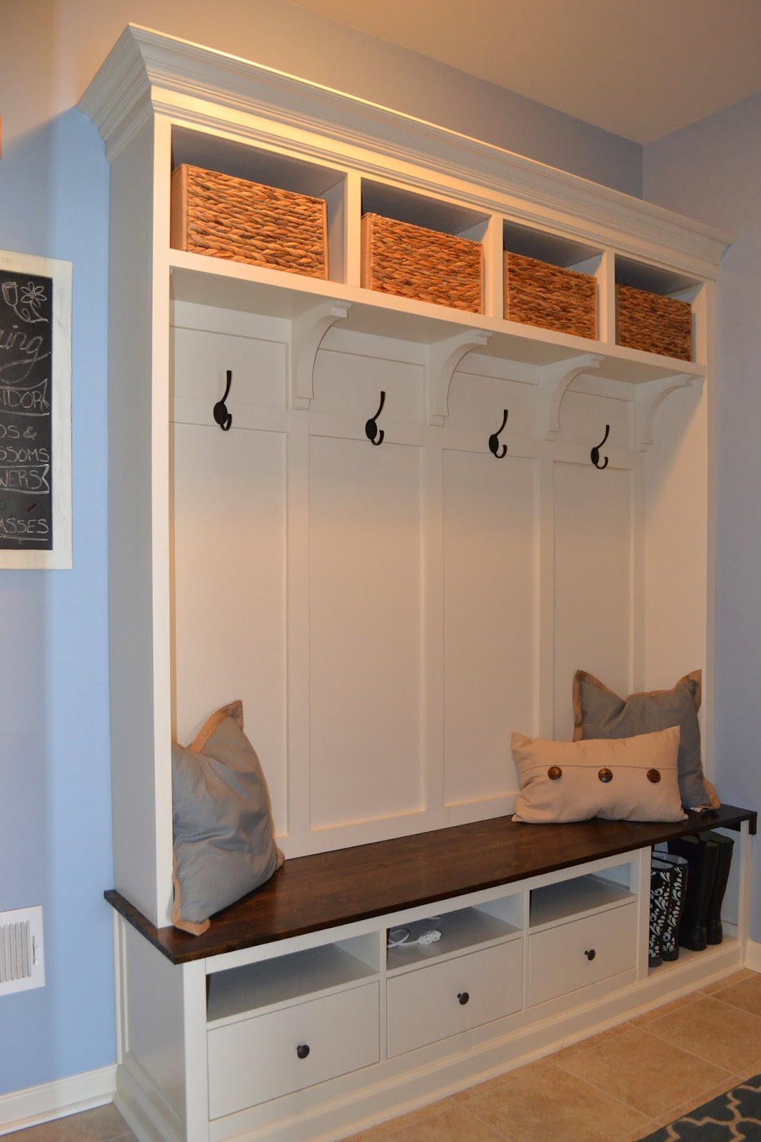 Ikea Mudroom Ideas Pictures ~ The Red Headed Spartan Mud Room IKEA HACK