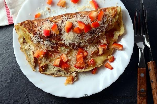 omleta ardei gras
