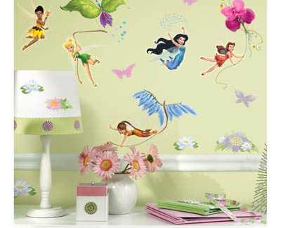 Wall Decals for Nursery Decorating: Beautiful Fairy Wall Decals for ...
