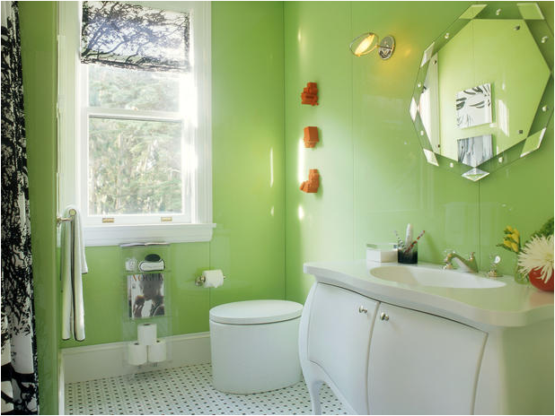 This teen girls bathroom idea is at the top of my list of VIP bathrooms   this bathroom is off the hook  I love it. Key Interiors by Shinay  Teen Girls Bathroom Ideas