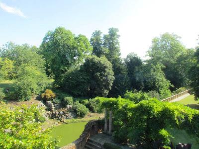 romantic, Eltham palace, garden, visit, English Heritage