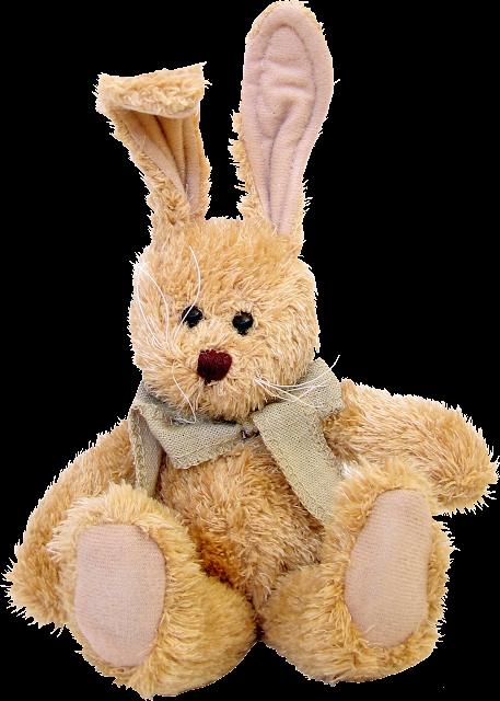 Recursos infantiles: Conejos de peluche PNG