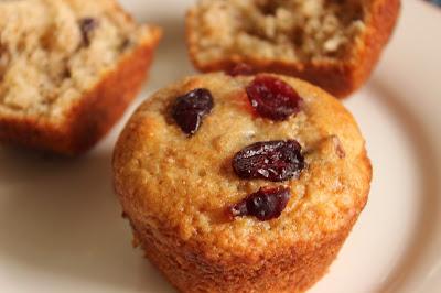 moist low-fat muffins