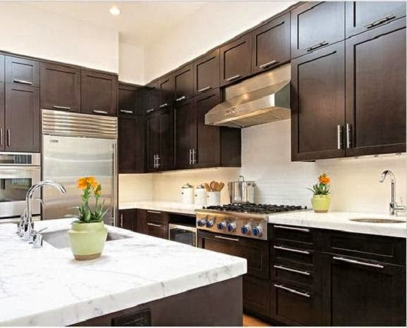 Teak wood Kitchen Cabinets Material | Home Decorating Plans Ideas