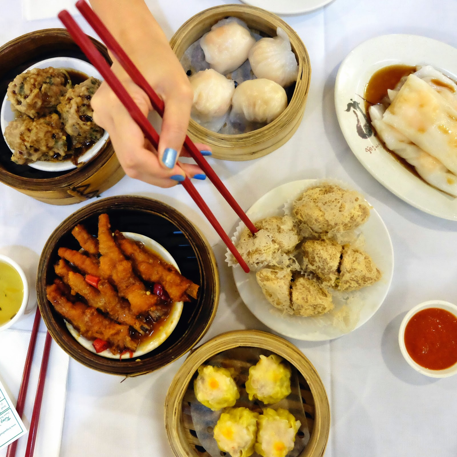 Yum Cha at King's Seafood Restaurant - Eastwood