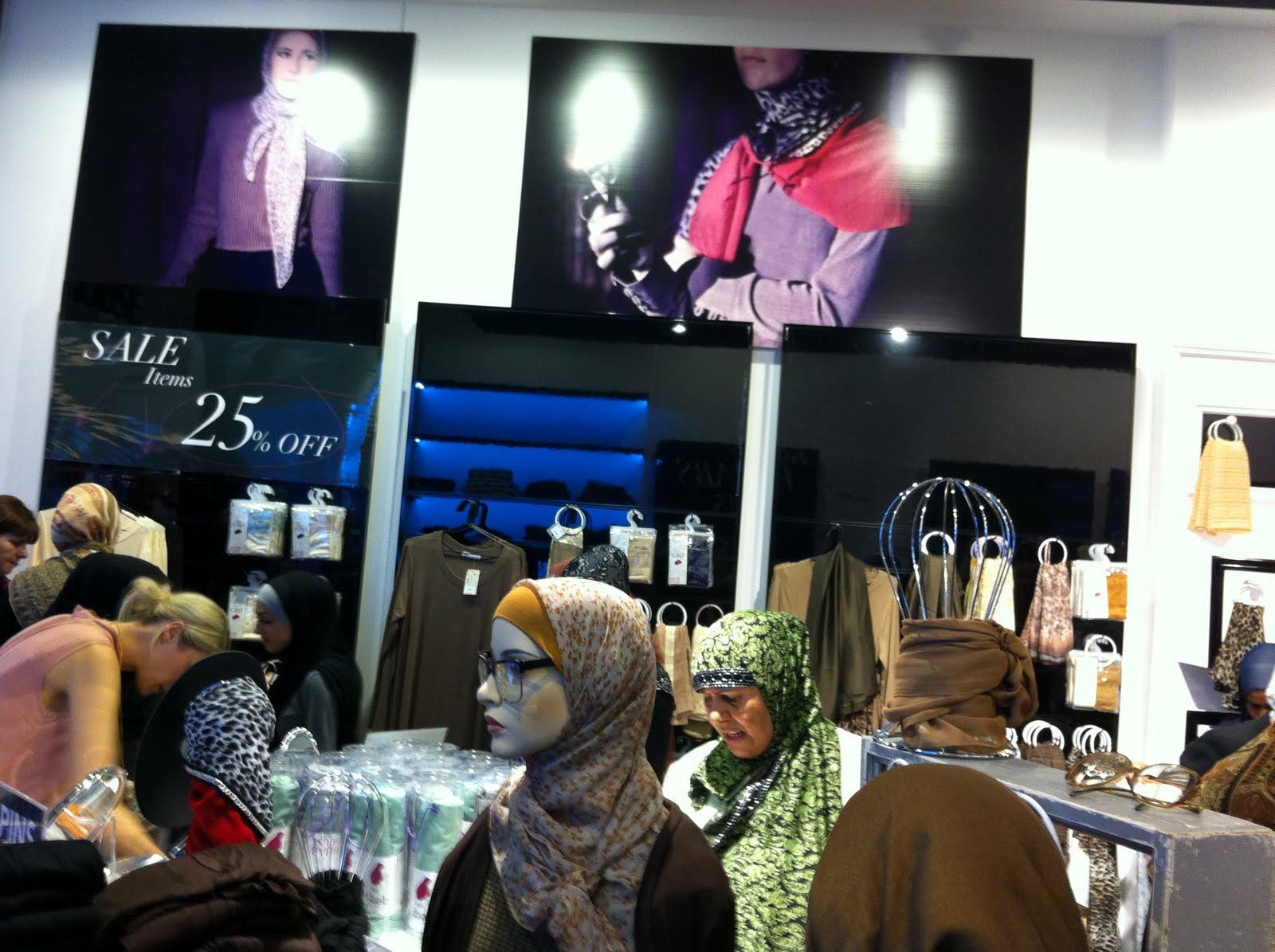 opening hijab