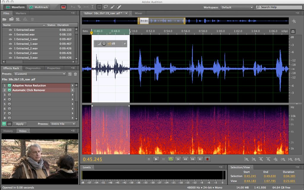 Adobe audition cs