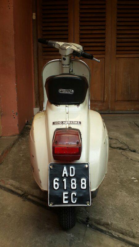 Dijual Vespa Pts 100 1979 Lapak Mobil Dan Motor Bekas