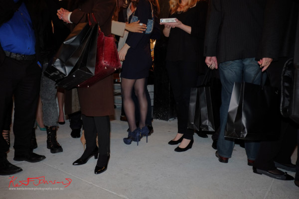 legs and shoes, Wolftress WE ARE WARRIORS, VIP Launch 2015 - Photo by Kent Johnson.