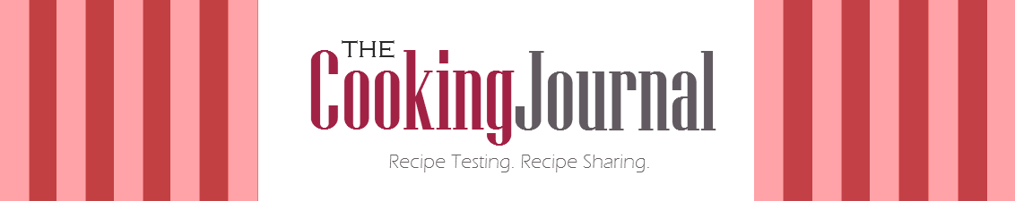 The Cooking Journal