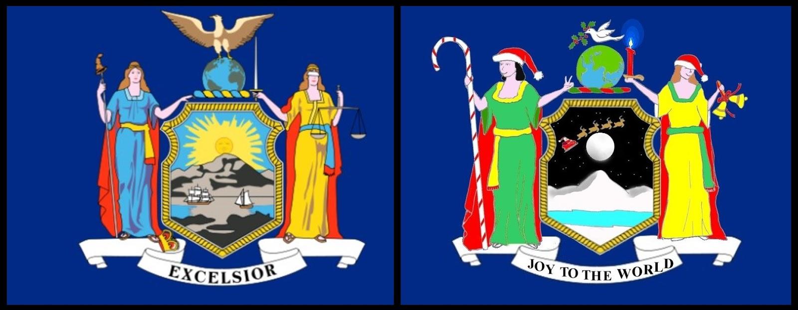 New york colony flag