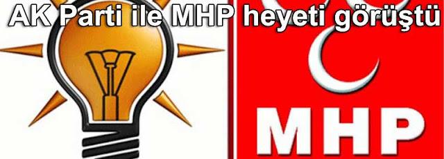 AKP Ak parti MHP koalisyon gorusmeleri