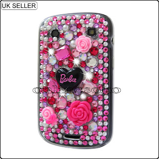 Barbie case for blackberry 9900 uk