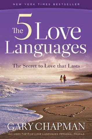 Book cover for The 5 Love Languages by Gary Chapman