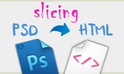 slice psd to html