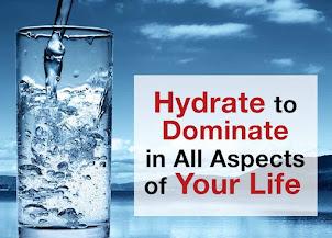 Hydration + Health = Happiness