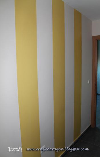Ernesto arag n pintura para el hogar 5 ideas para for Pasillos pintados color arena
