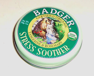 A can of Badger Stress Soother