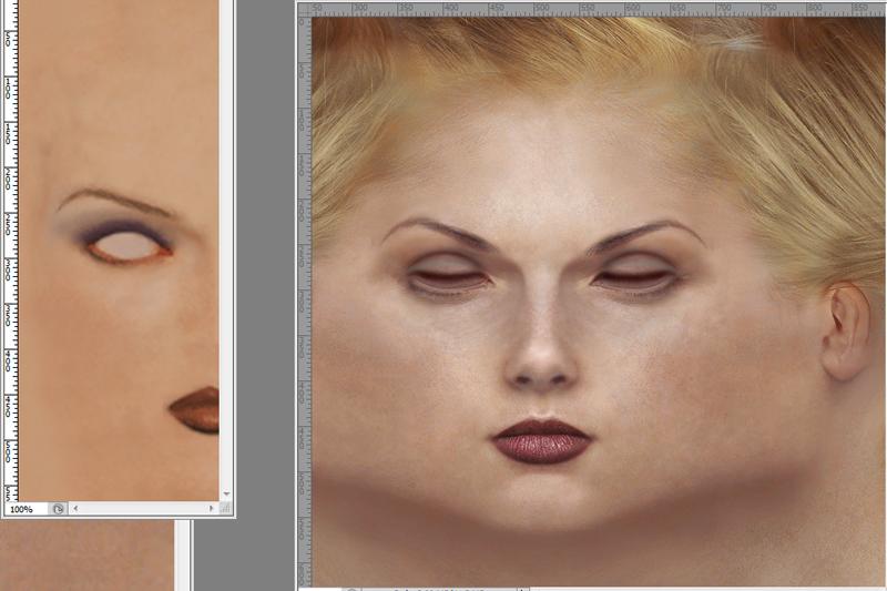 Tekken Nina Williams charcter model texture design