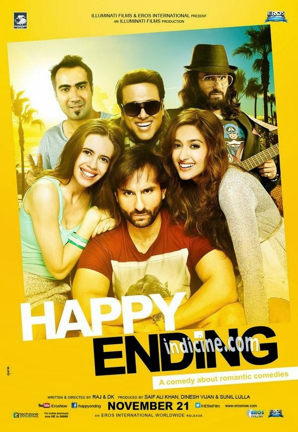Happy Ending (2014) Mp3 Songs - Free Download Bollywood Movie Songs.