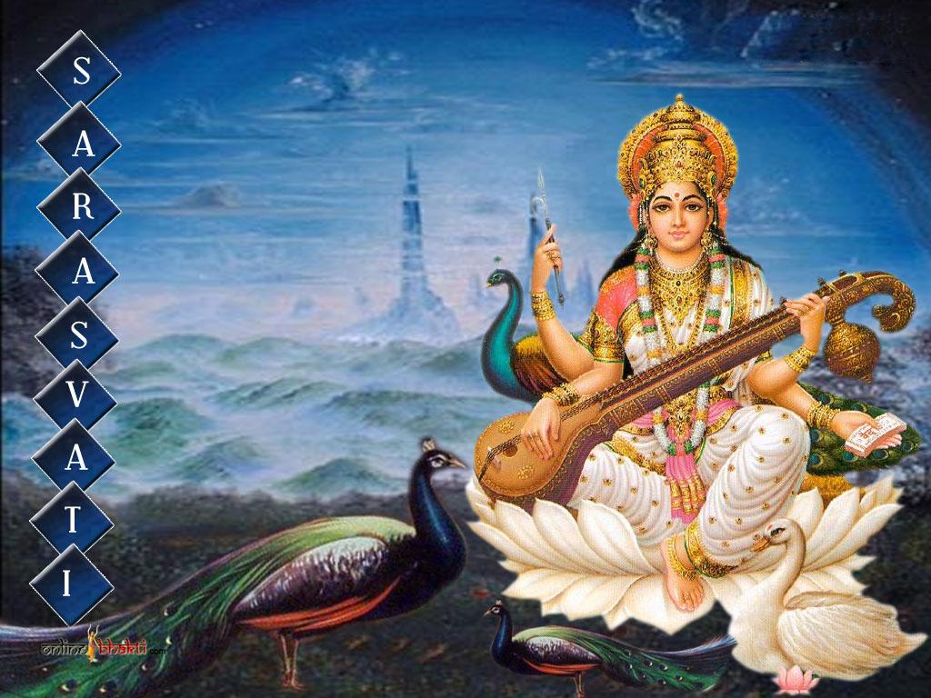 Saraswati Mata Picture