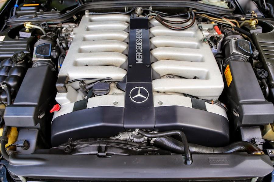 Mercedes benz r129 600 sl hardtop benztuning for Mercedes benz v12 engine